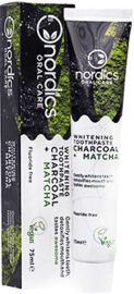 Charcoal Matcha Whitening Toothpaste 75ml - Nordics