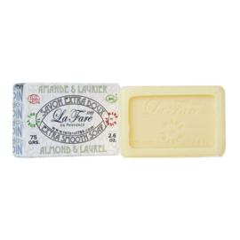 Extra Smooth Soap Almond Laurel 75g - La Fare 1789