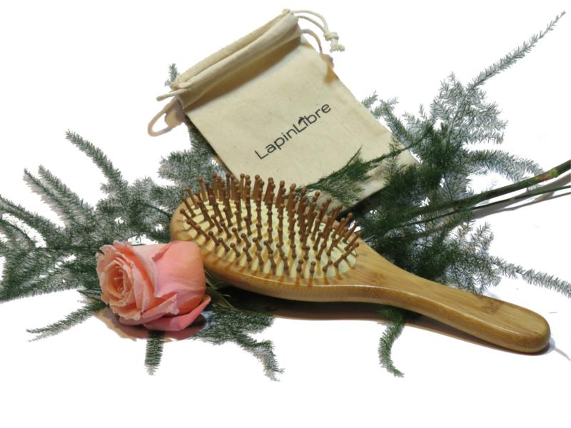 Haarborstel Bamboo - LapinLibre