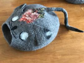 Vilten katten grot