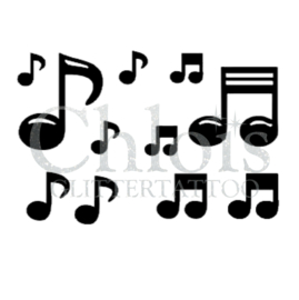 Music Notes (MS) (5 Pcs)
