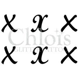 Letter X (MS 6) (1 pcs)