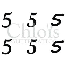 Number 5 (MS 6) (5 pcs)