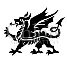 Medieval Dragon (5 pcs)