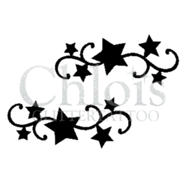 Curly Stars (DS) (5 Pcs)
