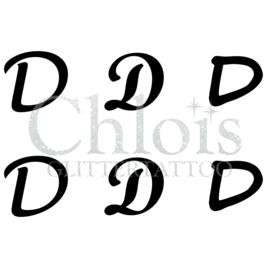 Letter D (MS 6) (1 pcs)