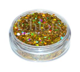 Chloïs Glitter Flakes Laser Gold 10 ml