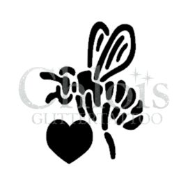 Heart Bee (5 pcs)