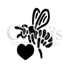 Heart Bee (5 pcs)