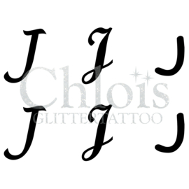 Letter J (MS 6) (1 pcs)