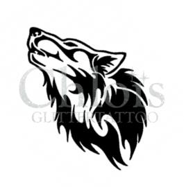 Wolf Head (5 pcs)