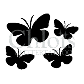 Butterflies (5 pcs)