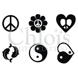 Peace and Ying Yang (MS 6) (1 pcs)