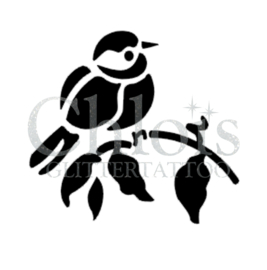Bird on branch (5 pcs)