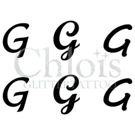 Letter G (MS 6) (1 pcs)