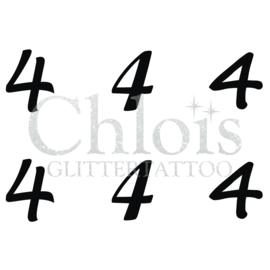 Number 4 (MS 6) (5 pcs)