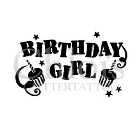 Birthday Girl Cake (5 pcs)