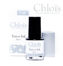 Chloïs Brush on Tattoo Ink Black 7 ml