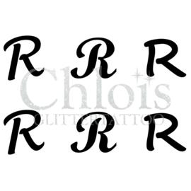 Letter R (MS 6) (1 pcs)