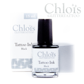 Chloïs Brush on Tattoo Ink Black 15 ml