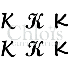 Letter K (MS 6) (1 pcs)