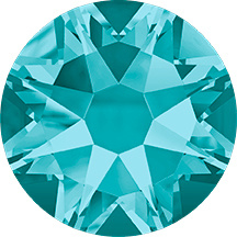 Swarovski Elements Blue Zircon model 2058 size SS20
