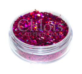 Chloïs Glitter Flakes Laser Rose 10 ml