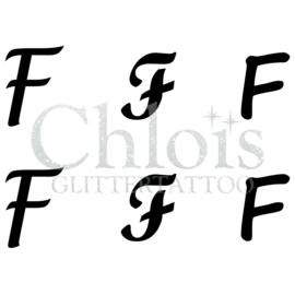 Letter F (MS 6) (1 pcs)