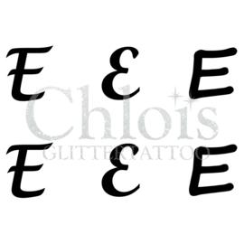 Letter E (MS 6) (1 pcs)