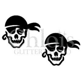 Pirate Skull (DS) (5 Pcs)