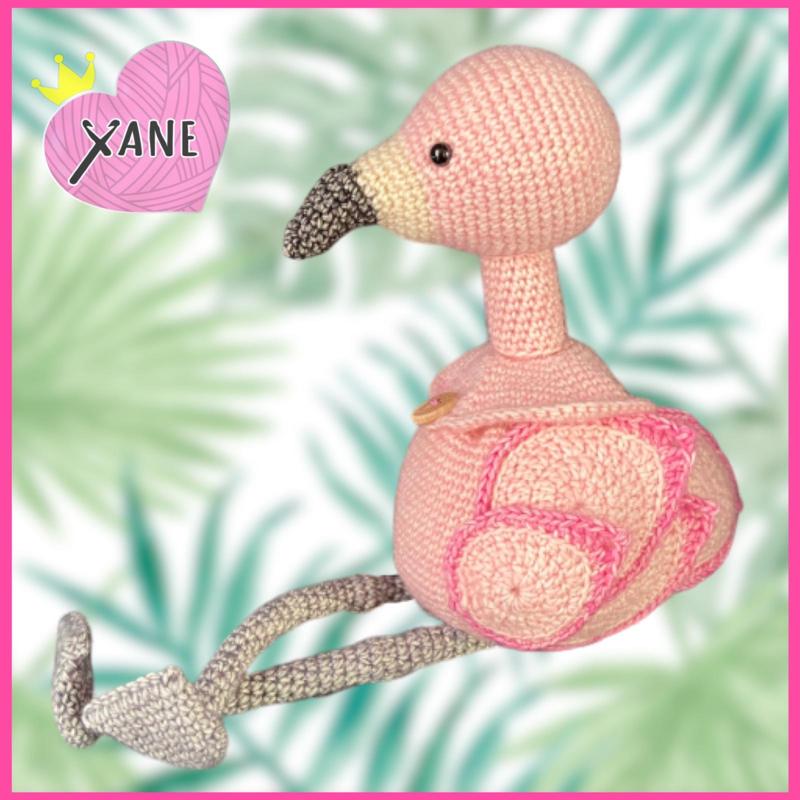 Flamingo zakje