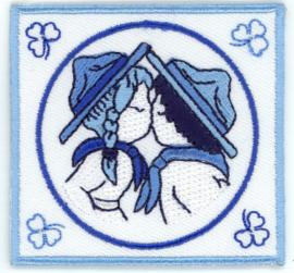 Delftsblauw scouting paartje