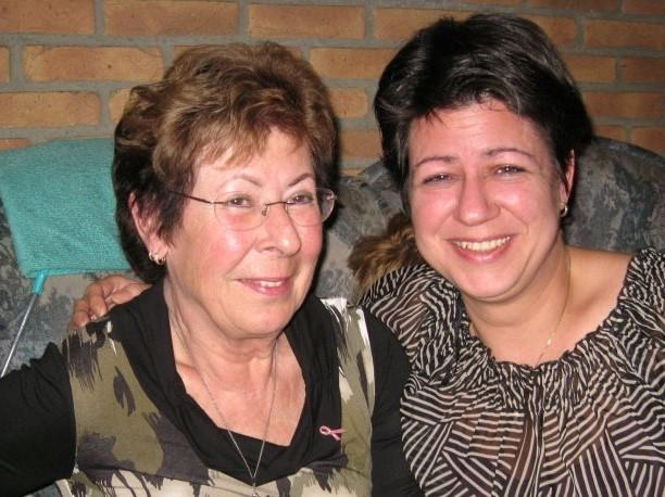 Mams en Lydia