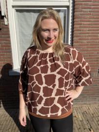 Blouse giraffe