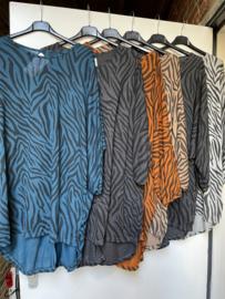 Tuniek zebra (meerdere kleuren)