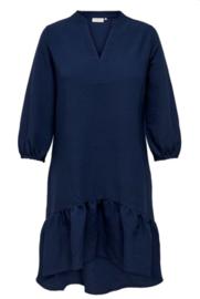 CARSANANA 3/4 knee dress Blues