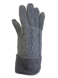 Dikke handschoenen, gevoerd grijs