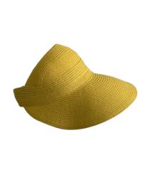 Modieus zomerklepje geel
