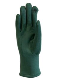 Daim look-a-like gloves groen