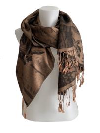 Bronzen sjaal