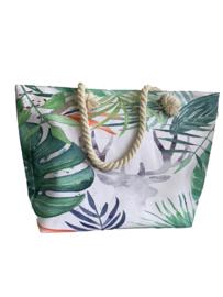 Modieuze zomertas met toffe kleuren