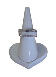 STAINLESS STEEL WHITE CERAMIC