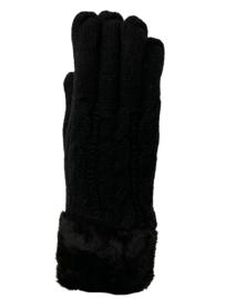 Dikke handschoenen, gevoerd zwart