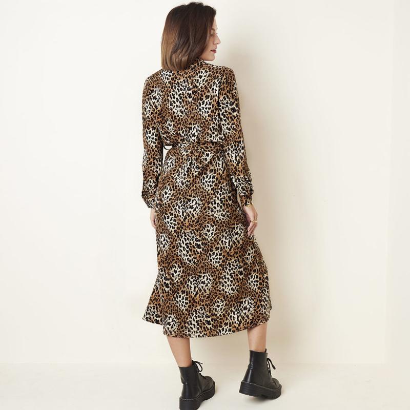 Tijgerprint jurk/kleedje