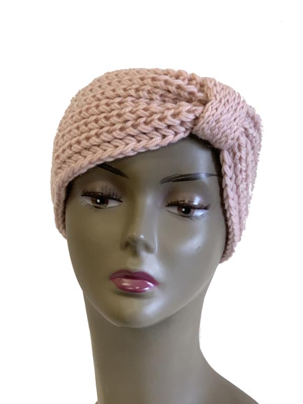 Haarband dikke brei, roze