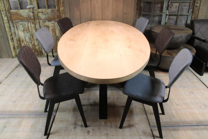 Eikenhouten ovale tafelblad