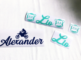Stickers super (tussen 25,1 cm en 29,5 cm breed)