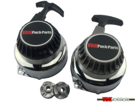 VDM Pullstart set Black/Grey (Original Bosch/Ducati ignition)