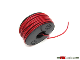 Electric cable red (A metre)