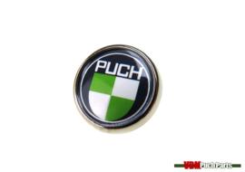 Pin button Puch logo (20mm)